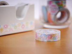 MT Washi Tape Spirograph Japanese Masking Tape by WashiWednesday