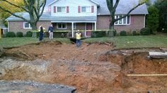 Part of Spring Township in Berks County is under a boil water advisory following a water main break that opened a sinkhole.