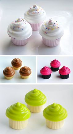 Pinhoneybarrel Soaps On Soapy Cupcakes Pinterest