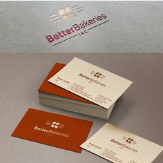 Better Bakeries Inc - Create a modern, classic logo and business card for a growing food start-up! We're pitching our model and need a professional business card to pass to potential investors. Modern Business Cards, Professional Business Cards, Business Card Logo, Business Card Design, Good Bakery, Facebook Cover Design, Modern Classic, Custom Logos, Logo Design