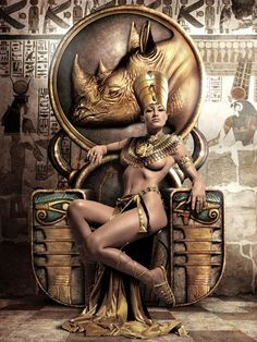 Nefertitti of NewYork I rule my kingdom….