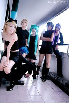 vocaloids cosplay