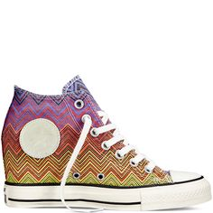 Converse X Missoni Chuck Taylor All Star Lux Wedge Washed Canvas - Converse