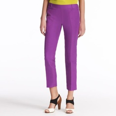 I love these pants from Kate Spade. Too bad I don't have $248 to spend on them. Add them to my wish list with the Jimmy Choos.