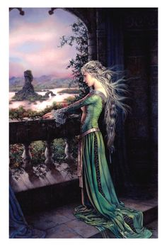 "Arantza Sestayo Art; Cover of ""Tower of Thorns"" by Juliet Marillier"