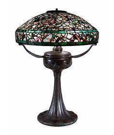 Tiffany Studios Table Lamps height: 25 in.  x diameter: 18 in.