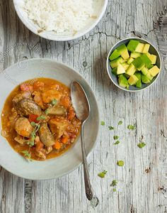 Berenjenas Guisadas con Cerdo   Cocina Dominicana