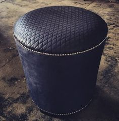 Bespoke Ottoman Stool Designed by YDA. Interior Design Services, Home Interior Design, Yorkshire, Architecture Design, Cuddle Chair, Funky Chairs, Ottoman Stool, Luxury Homes Interior, Bespoke Furniture