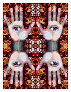Lucid Dreaming, Evil Eye, Halloween Face Makeup, Eyes, Middle, Cat Eyes