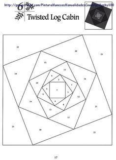 Пэчворк шаблоны.  Patchwork patterns.