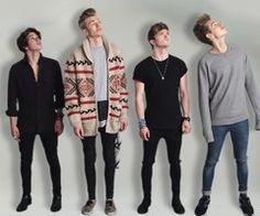 The Vamps Brad is so tiny next to them. I love him so fucking muchhh Bradley Simpson, Evan And Connor, Will Simpson, Music X, British Boys, Somebody To You, 1d And 5sos, The Vamps, Celebs