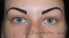 eyebrow tattoo 20 2013 1837 2607 tattooed eyebrows before after and Semi Permanent Eyeliner, Permanent Makeup Eyebrows, Eyebrow Makeup, Eyeliner Tattoo, Eyebrow Tattoo, Tattooed Eyebrows, Pictures Of Eyebrows, Eyebrow Before And After, Cosmetic Tattoo