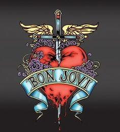 Bon Jovi - Livin' On A Prayer (my uncle in NJ lives like 1 mile away from this dudes house. annd went to the same high school/same grad class as Jovi. Music Album Covers, Music Albums, Bon Jovi Tickets, Bon Jovi Pictures, My Favorite Music, My Favorite Things, San Francisco Travel, Jon Bon Jovi, Big Love