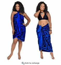 Add to your sense of mystique with this pertama sarong in Celtic circles.