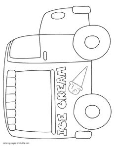 Coloring Pages Of Ice Cream Truck Times Sect Times Times Yen Summer Ice Cream - Coloring Pages Of Ice Cream Truck Times Sect Times Times Yen Summer Ice Cream - Ice Cream Games, Ice Cream Theme, Summer Ice Cream, Ice Cream Day, Preschool Coloring Pages, Truck Coloring Pages, Ice Cream Coloring Pages, Ice Cream Crafts, Truck Crafts
