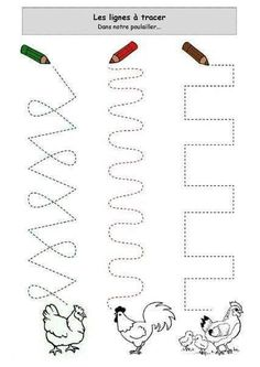 Crafts,Actvities and Worksheets for Preschool,Toddler and Kindergarten.Lots of worksheets and coloring pages. Preschool Writing, Preschool Curriculum, Free Preschool, Toddler Preschool, Learning Activities, Preschool Activities, Kids Learning, Tracing Worksheets, Kindergarten Worksheets