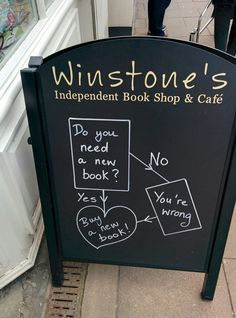 Winstone's Independent Book Shop and Cafe