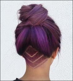 20 Undercut Haar Tattoo Ideen für Mädchen | Tips And Tricks ...