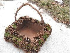Collect fallen cones: 15 brilliant ideas for your Herbstdeko Pine Cone Art, Pine Cone Crafts, Diy Crafts To Sell, Fall Crafts, Pine Cones, Holiday Crafts, Pine Cone Decorations, Christmas Decorations, Autumn Decorations