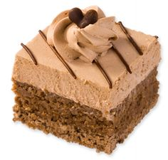 A carob-flavored wheat flour cake for your dog that is topped with carob frosting and carob decoration. Check out our website for more! Three Dog Bakery, Brownies, Cake, Desserts, Food, Pie Cake, Tailgate Desserts, Pastel, Meal