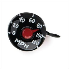Speedometer Bike Bell and more Unique Gift Ideas at Perpetual Kid. Boring old school bike bell meets a fun new design. Bicycle Bell, Kids Bicycle, Shabby Vintage, Bicycle Accessories, Accessories Store, Commuter Bike, Valentines Day Gifts For Him, Xmas Gifts, Retro Toys