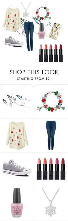 """Casual Look"" by mysticsjy on Polyvore featuring Bling Jewelry, NYDJ, Converse, NARS Cosmetics and OPI"