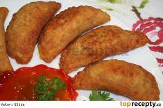 Smažené taštičky - indické Pakaurí Asian Recipes, Ethnic Recipes, Exotic Food, Quinoa, Baked Potato, Sausage, Tacos, Potatoes, Meat