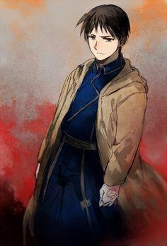 Anime: Fullmetal Alchemist: Brotherhood Personagem: Roy Mustang