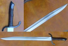 It's such a simple design, but I like it so much more than a standard double-edge cruciform sword.