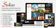 Sokar – Responsive Fullscreen Portfolio WP Theme