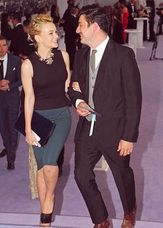 AWW! They are soo adorable!! Marcus Mumford and Carey Mulligan!!