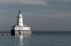 ITAP of a lighthouse on a Michigan Lake http://ift.tt/2lgma2V