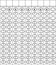 students to get used to using bubble sheets before a state test or an ...