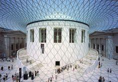 大英博物館《グレートコート》1994-2000年 ロンドン、英国 | Photo: Nigel Young, Foster+Partners