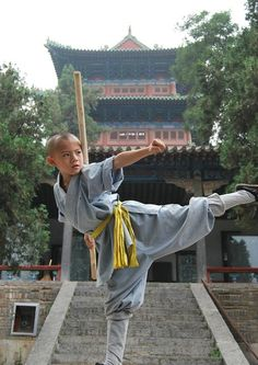 ♂ Martial art China Shaolin Kungfu monk