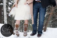 Winter wonderland engagement shoot! #CHWeddingPhoto
