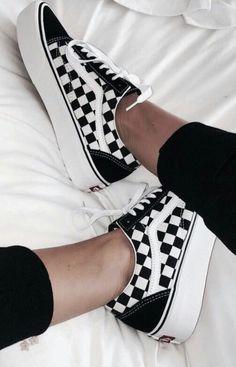 vans checkered old skool skate shoes | #sneakers