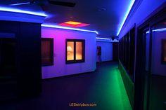 Color led light strip