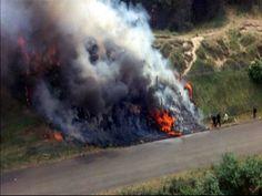 Piers Courage. Ogromny pożar spowodowały karoseria i podwozie wykonane z magnezu, użyte, aby odciążyć bolid. W połączeniu z benzyną palącą się w 700 °C ugaszenie pożaru było bardzo trudne.