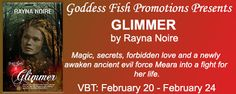 Glimmer by @RaynaNoire - @GoddessFish, @Mommy_Amers, #Fantasy, #Historical, 3 out of 5 (good) - February