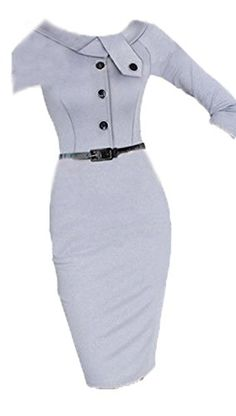 Womens Elegant Back Zip Tunic Business Work Party Cocktail Pencil Wiggle Dress Unknown http://smile.amazon.com/dp/B00NWDFUE8/ref=cm_sw_r_pi_dp_zsCGvb1CAPW53