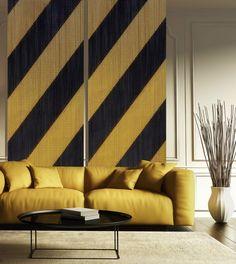 The new collection by KriskaDECOR at Maison & Objet #colour #yellow #interiors @KriskaDECOR