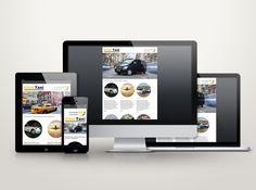 עיצוב ובניית אתר אינטרנט לחברה: «Еilat-taxi»
