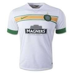 The dominant force in the Scottish Premier League, Celtic Football Club,  have unveiled a white third kit for their 2014/15 domestic and European seasons.