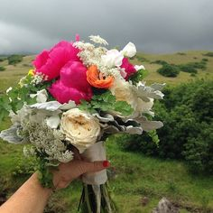 Hello ❤️... Today's bouquet for #annasranch wedding #nofilter www.blissinbloom.com --- #Bouquet #Wedding #Hawaii #Bride #Florals #HawaiiWedding #BlissInBloom
