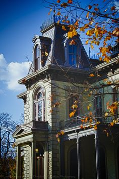 David Davis Mansion, Bloomington IL