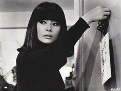 Matsumoto Hiroko 松本弘子 (1936-2003) in Domicilie Conjugal (Bed and Board), Director : François Truffaut (1932-1984) - France - 1970