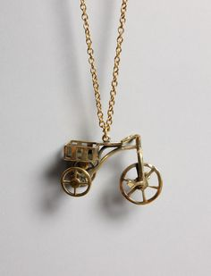 Tricycle necklace! :)