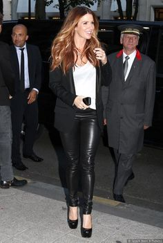 My client Poppy Montgomery is looking so Red Carpet Ready in Paris!    #Fitfluential #RCR