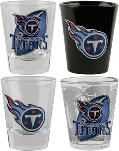 Tennessee Titans Tn Titans, Tennessee Titans Football, Remember The Titans, Houston Oilers, Glitter Glasses, Nfl Football Teams, Nfl Gear, My Boo, Shot Glasses